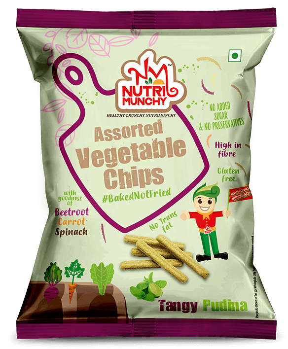 Vegetable Chips Pudina Tangy (Render)